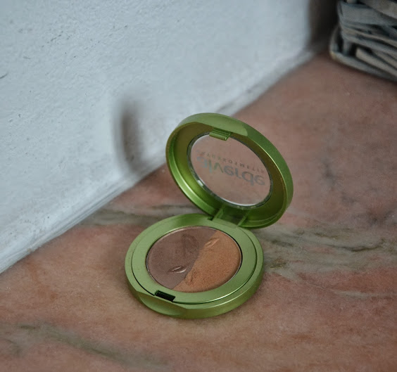 Review: Alverde Eyeshadow Duo Golden Bronze