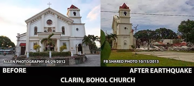 Clarin, Bohol Church | Cebu Bohol Earthquake