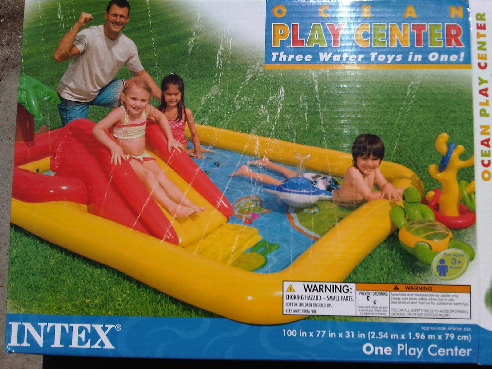 Brad the Dad Review Intex Ocean Play Center