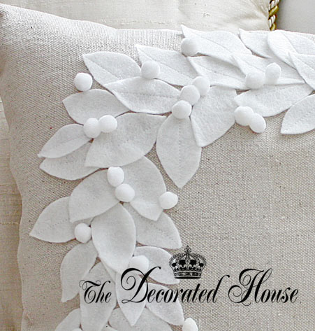 The Decorated House - Pottery Barn Knock Off Pillow