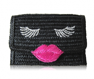 Kissy Face Basket Clutch