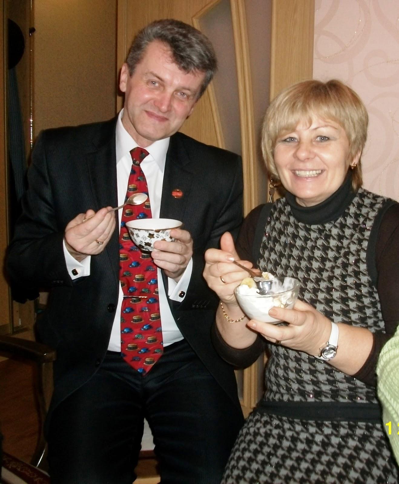 Руслан Соловьев и Людмила Салыкова