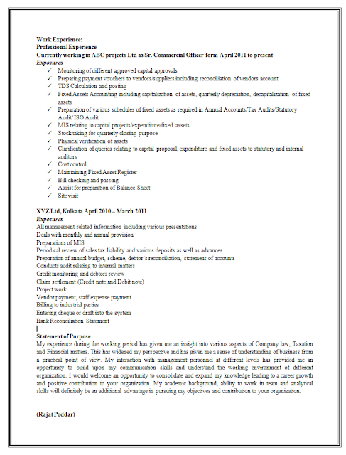sle resume experienced bpo professional resume