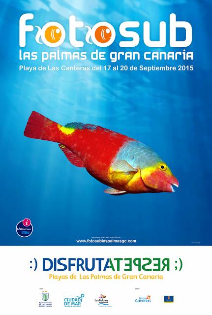 Foto-sub 2015 Las palmas de Gran Canaria