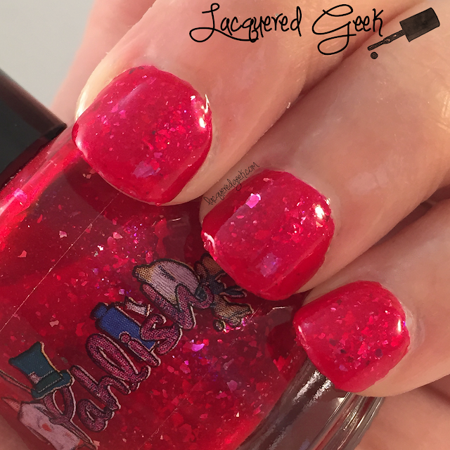 Pahlish The Sea is Boiling Hot nail polish swatch by Lacquered Geek