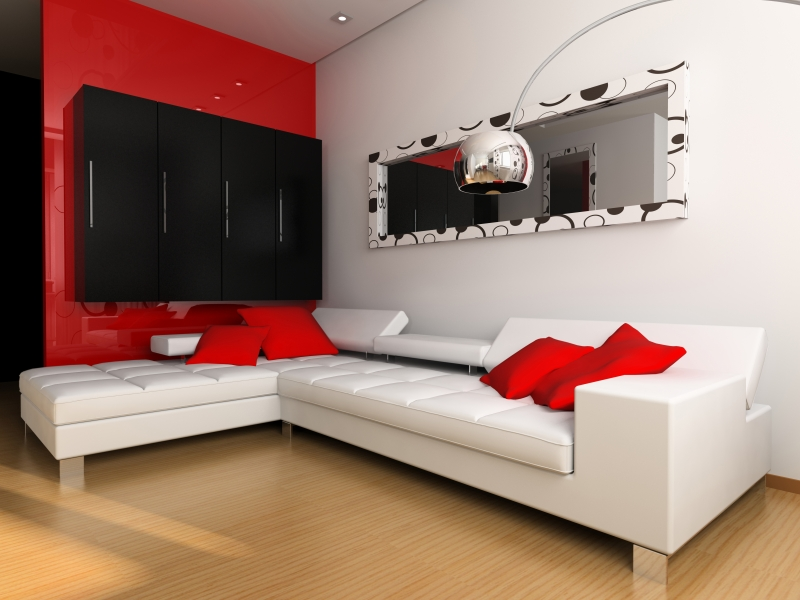 Red Living Room Wall Decor Ideas