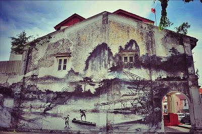 怡保-壁画
