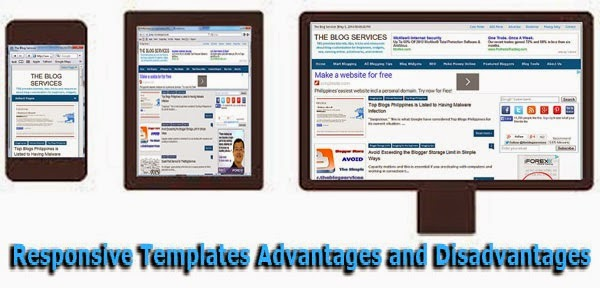 Responsive Templates Advantages and Disadvantages