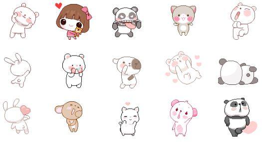[ Emoticones ] ( Parte 7 )  Gatito , Niña , Winnie Pooh, Perrito