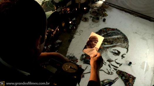 Vik Muniz em Lixo Extraordinário