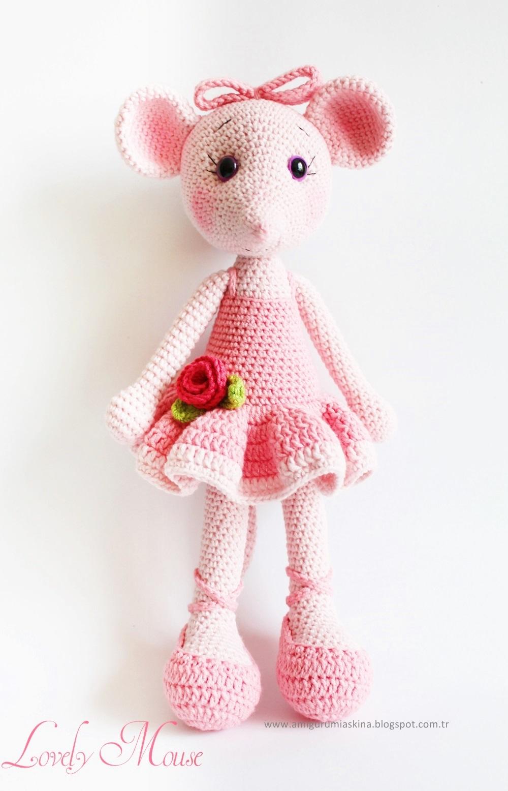 Amigurumi Ballerina Pattern : Yine Bir Amigurumi Angelina Ballerina - Knitting, Crochet ...