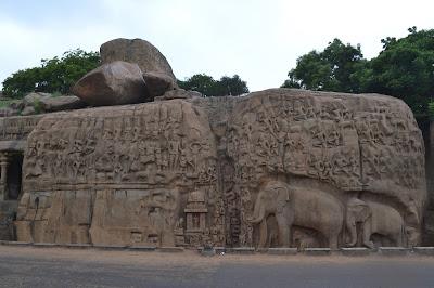 Arjuna penanc  in Mahabalipuram
