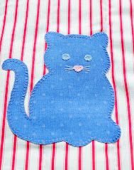 sew a kitty cushion