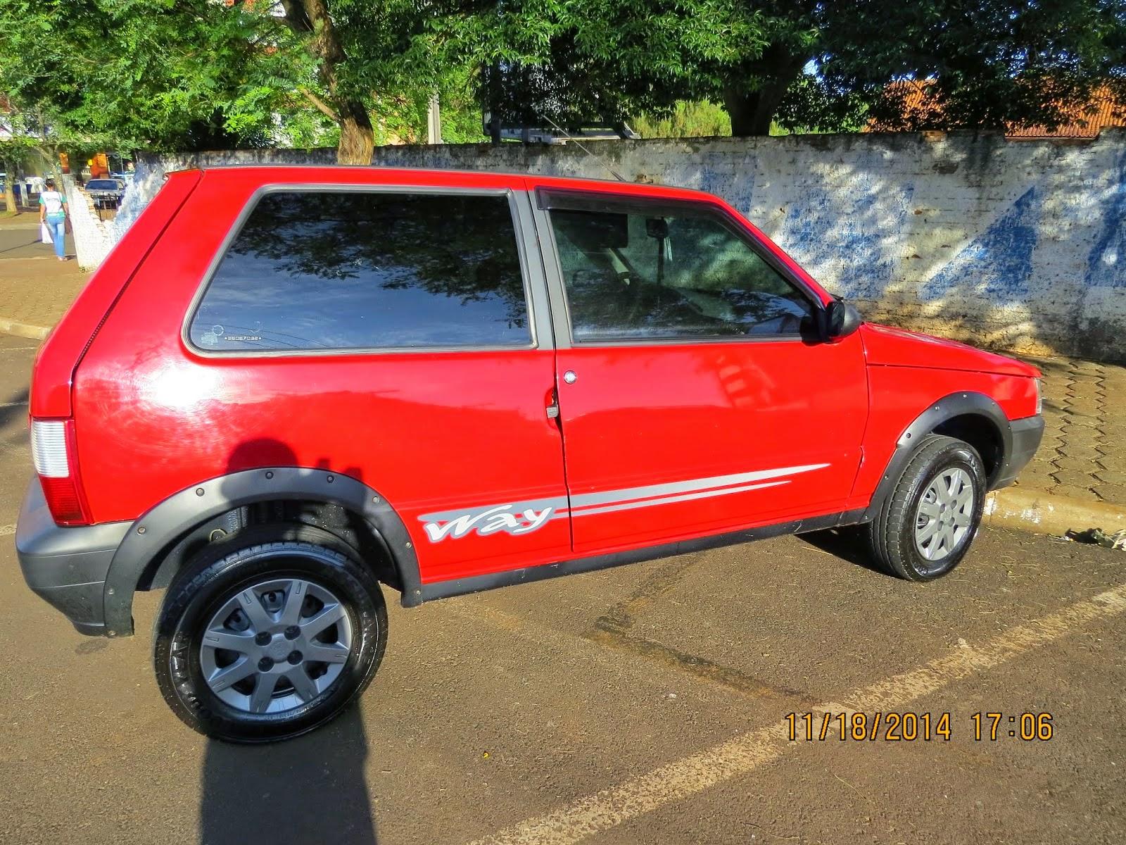 Laranjeiras do Sul:Vende-se Fiat Uno ano 2008 Flex