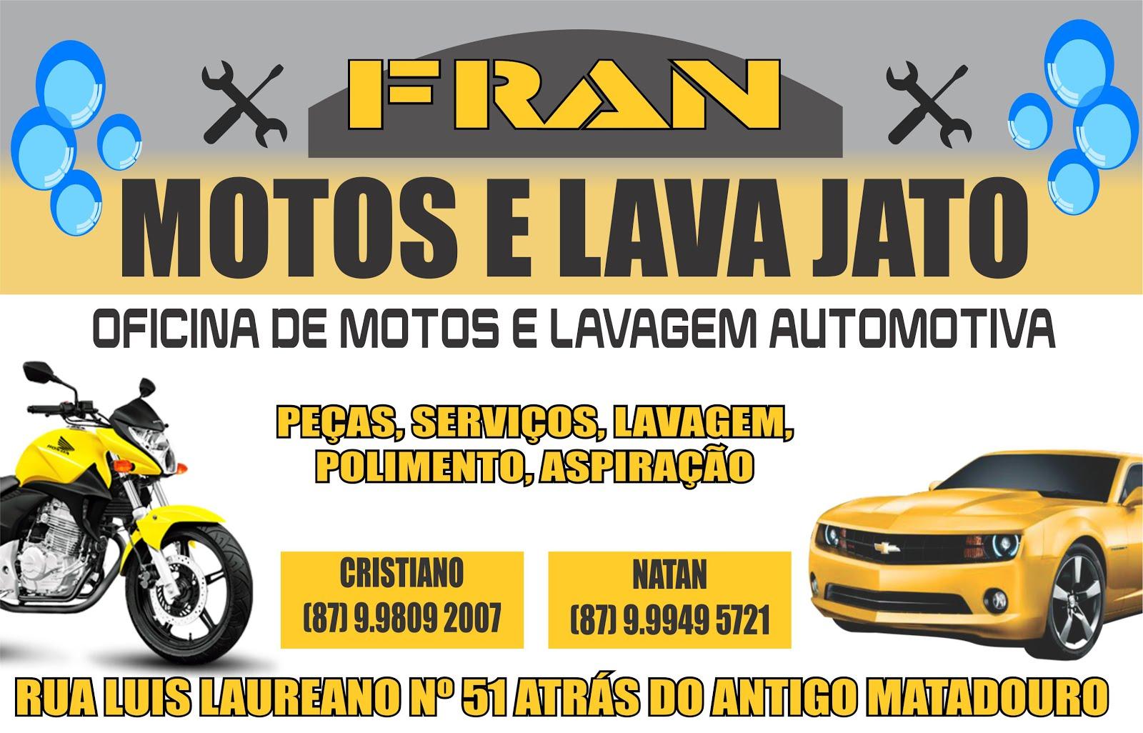 FRAM MOTOS E LAVA JATO