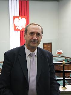 poseł Jacek Bogucki w parlamencie RP