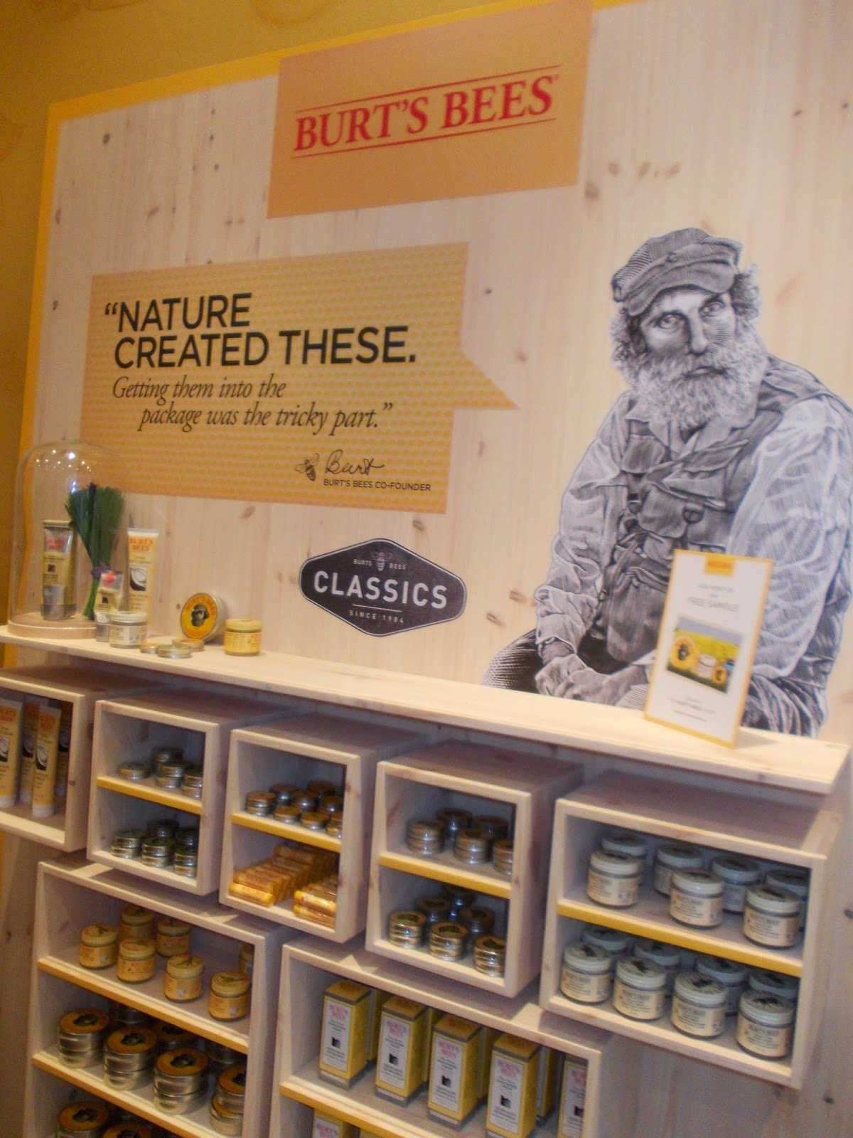 Burt's Bees London Pop-Up Store