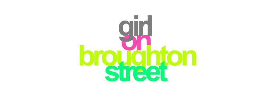 Girl on Broughton Street