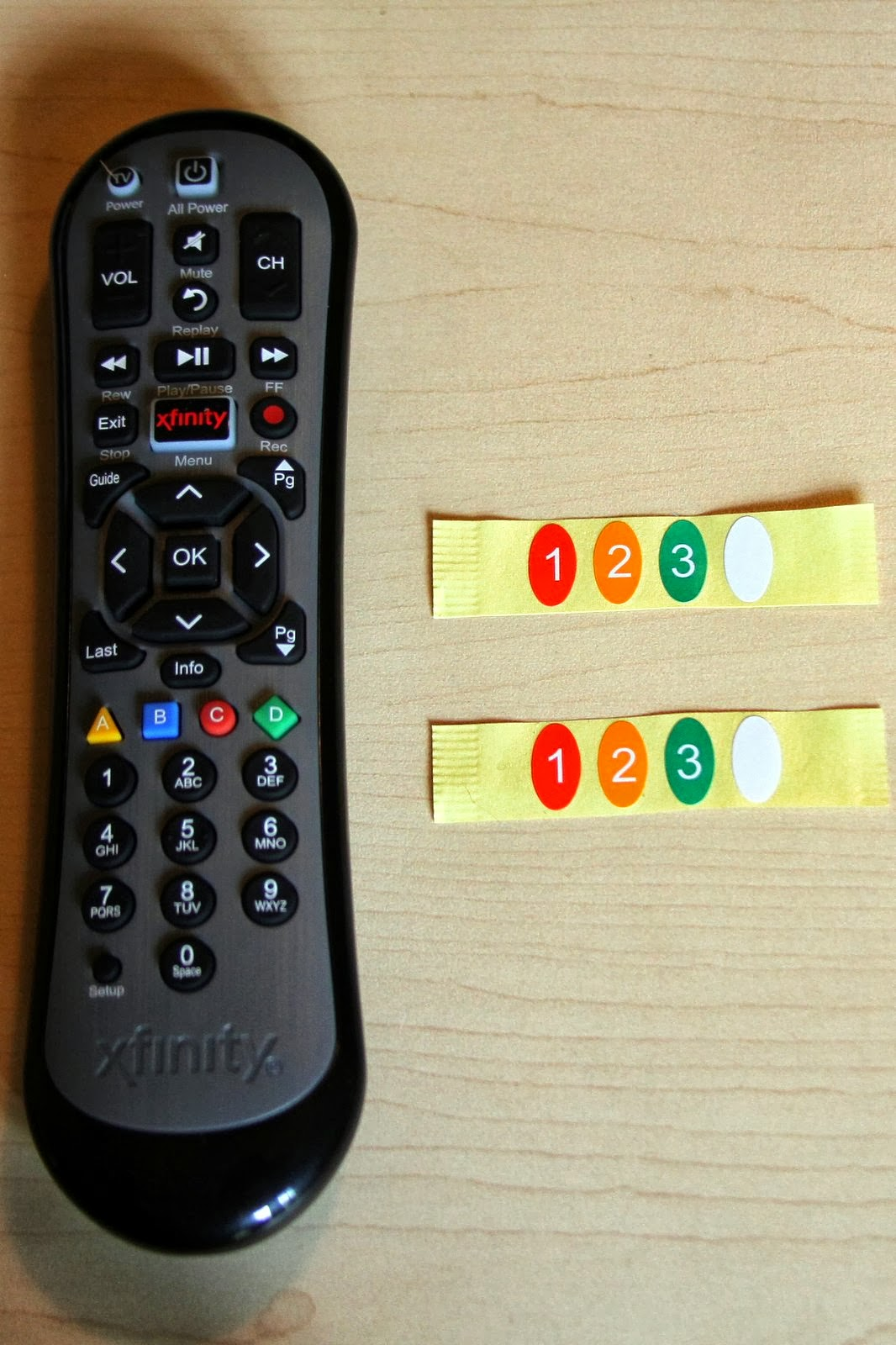 how to connect comcast remote to sharp tv