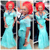 Checkout Mercy Aigbe On This Stunning Lace Styles