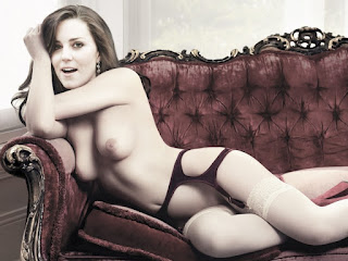 Naked Catherine Duchess of Cambridge Tits