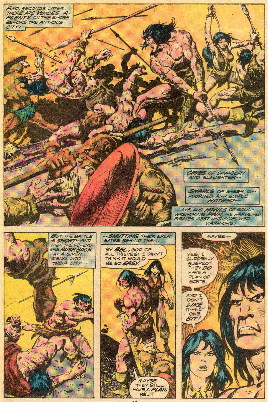 Conan the Barbarian (1970) Issue #70 #82 - English 8