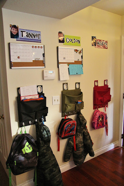 Adventures in Pinteresting: Entryway Organization for Kids
