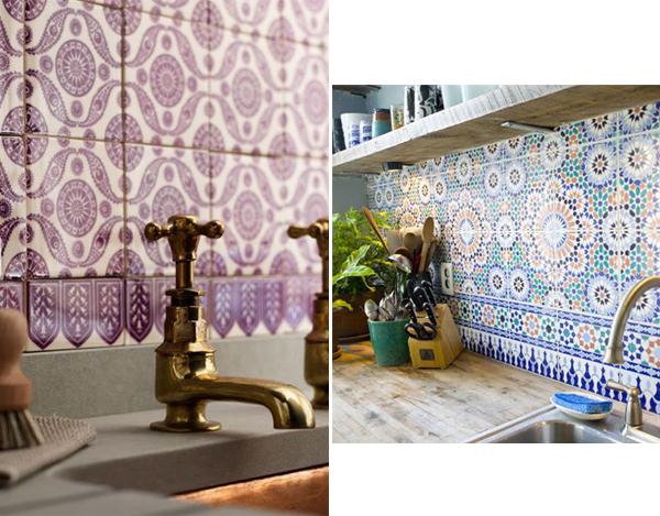 Dise o de cocinas con azulejos cer micos cocinas modernass for Disenos de azulejos para cocina