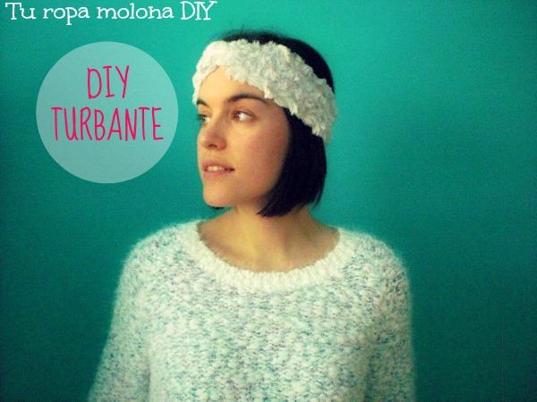 DIY Cómo hacer un turbante