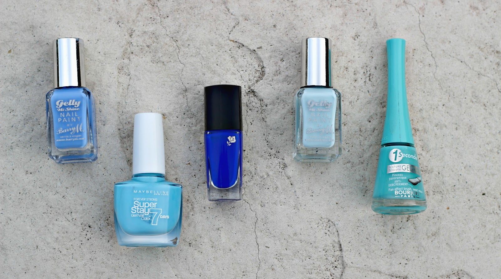 Summertime Blues -nail polish