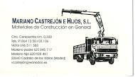 Materiales Construcción MARIANO CASTREJÓN