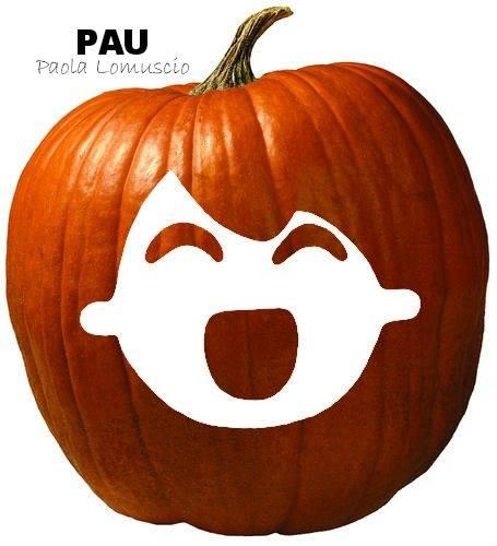 PAU Zucca disegno di Paola Lomuscio