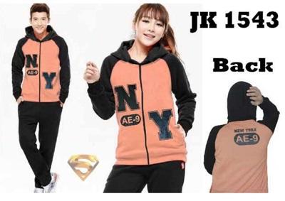 Jual Online Jaket Couple Model Terbaru di Jakarta Bahan Babyterry Keren