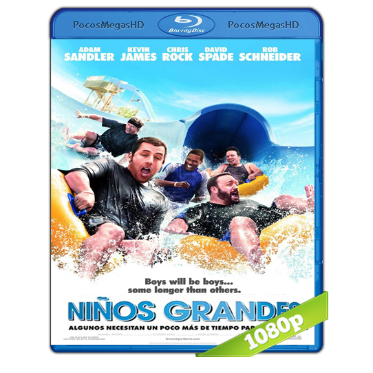 Niños grandes (2010) BRRip 1080p Audio Dual Latino/Ingles 5.1