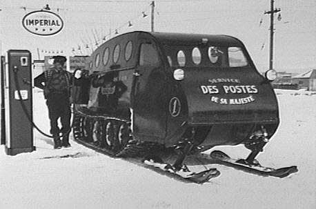 the canadian armand bombariers discovery of the snowmobile Learn more about the life of joseph-armand bombardier archived drawings and descriptions (in french) of patents held by joseph-armand bombardier on the canadian intellectual property office website humphrey, jack and janis nostbakken the canadian inventions book toronto: greey de pencier publications, 1976 print.