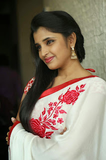 Shyamala Stills At Uttama Villain Movie Release Date Press Meet   (19).jpg