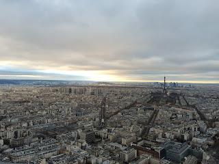 Ausblick Tour Montparnasse, Paris