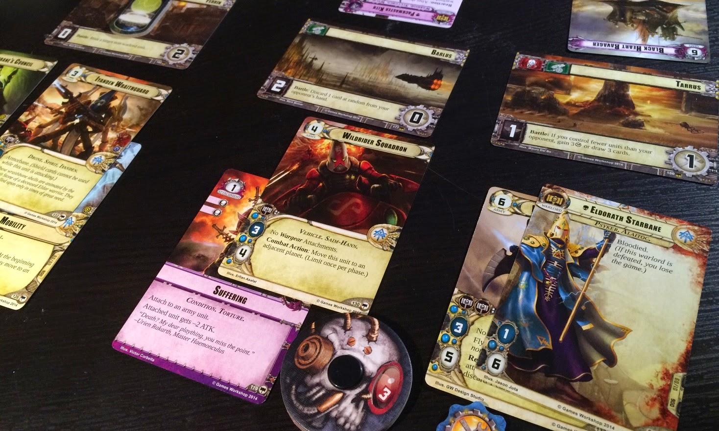 Warhammer 40,000 Conquest Review Eldar