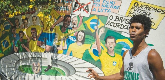 2014 World Cup Street Art