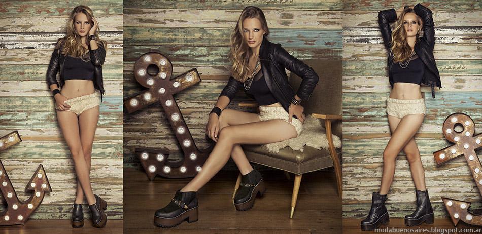 Lady Stork otoño invierno 2015. Botas, zapatos y zapatillas otoño invierno 2015.