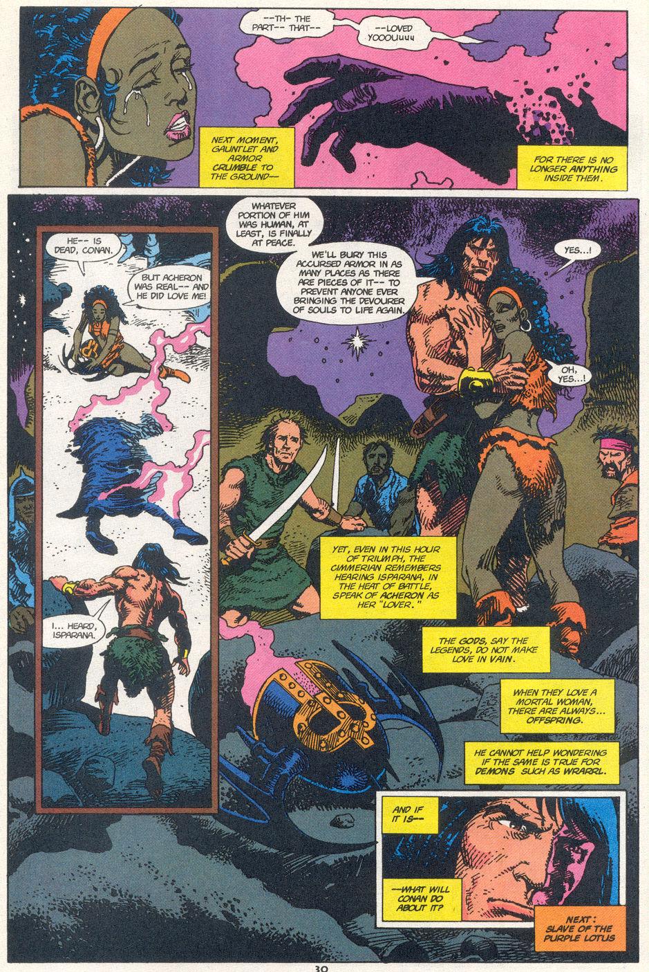 Conan the Barbarian (1970) Issue #272 #284 - English 22