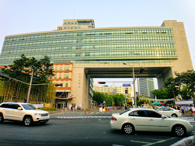 Hongik University in Hongdae Seoul