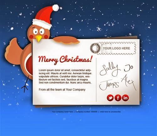 Popular Electronic Christmas Cards For Business