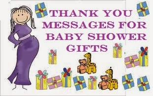 Thank You Messages For Baby Shower Gifts