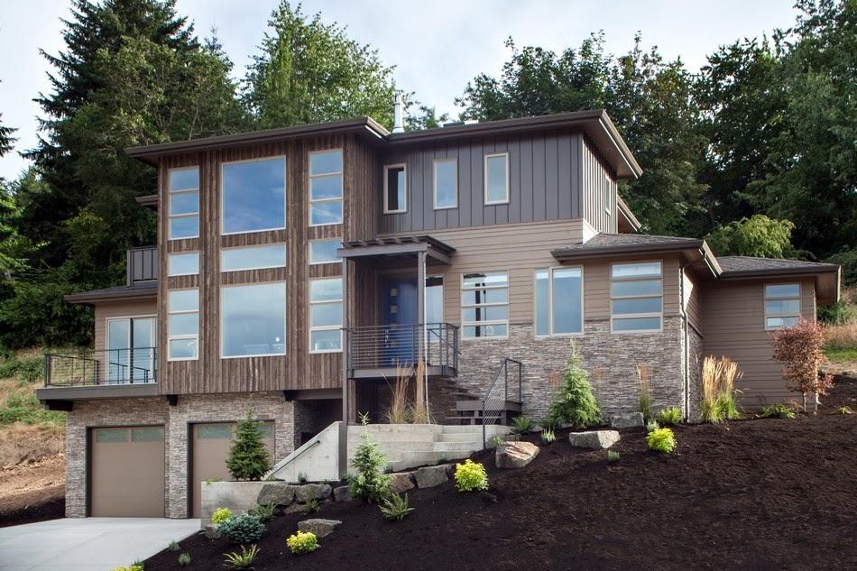Memang penggunaan kayu lebih bisa menghemat pengeluaran saat membangun rumah. Namun beton tentu lebih kokoh. Oleh karena itulah orang Indonesia ... & Gambar Desain Rumah Artis Paling Mewah Kombinasi Kayu dan Batu yang ...