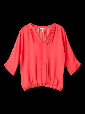 f5 N11 21615 MELON FLAT 9 1 2 3 - �ifon Elbise ve Bluz Modelleri 2012