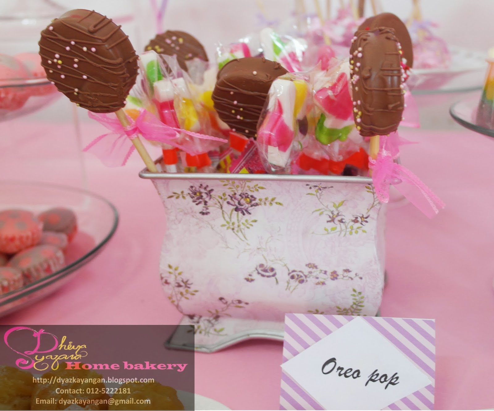Dyaz Kayangan Home Bakery: Chocolate covered oreo lollipops - for ...