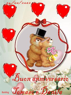 Il mio mondo buon anniversario tomaso e grazie for Auguri di buon anniversario