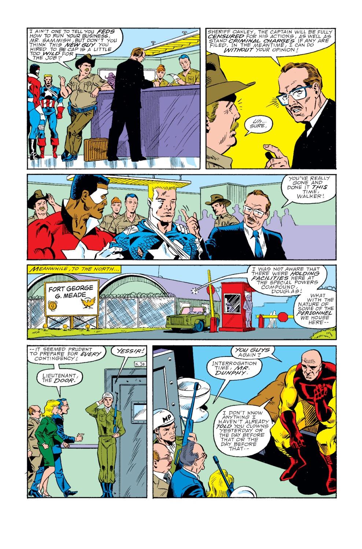 Captain America (1968) Issue #346 #276 - English 5
