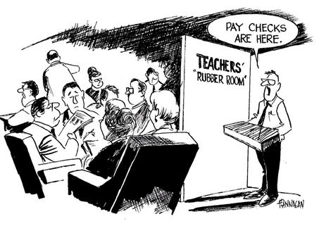 Teachers Rubber Room